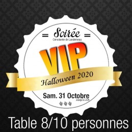 **Table 8/10 personnes VIP...