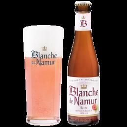 Fût Blanche de Namur rosée...